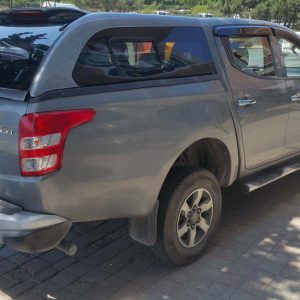 Fiat Fullback Hard Top Canopy with Sliding Window